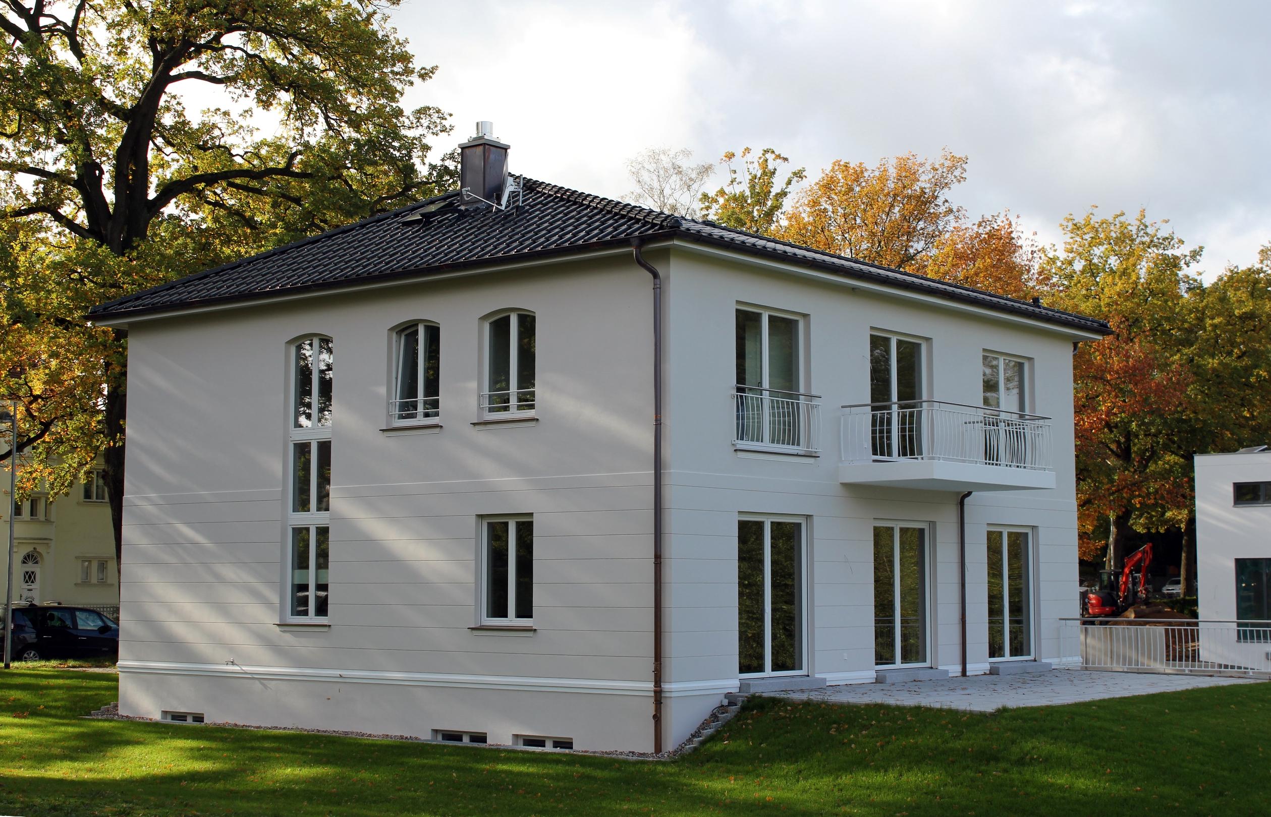 Ansicht Einfamilienhaus Schwerin Rückseite