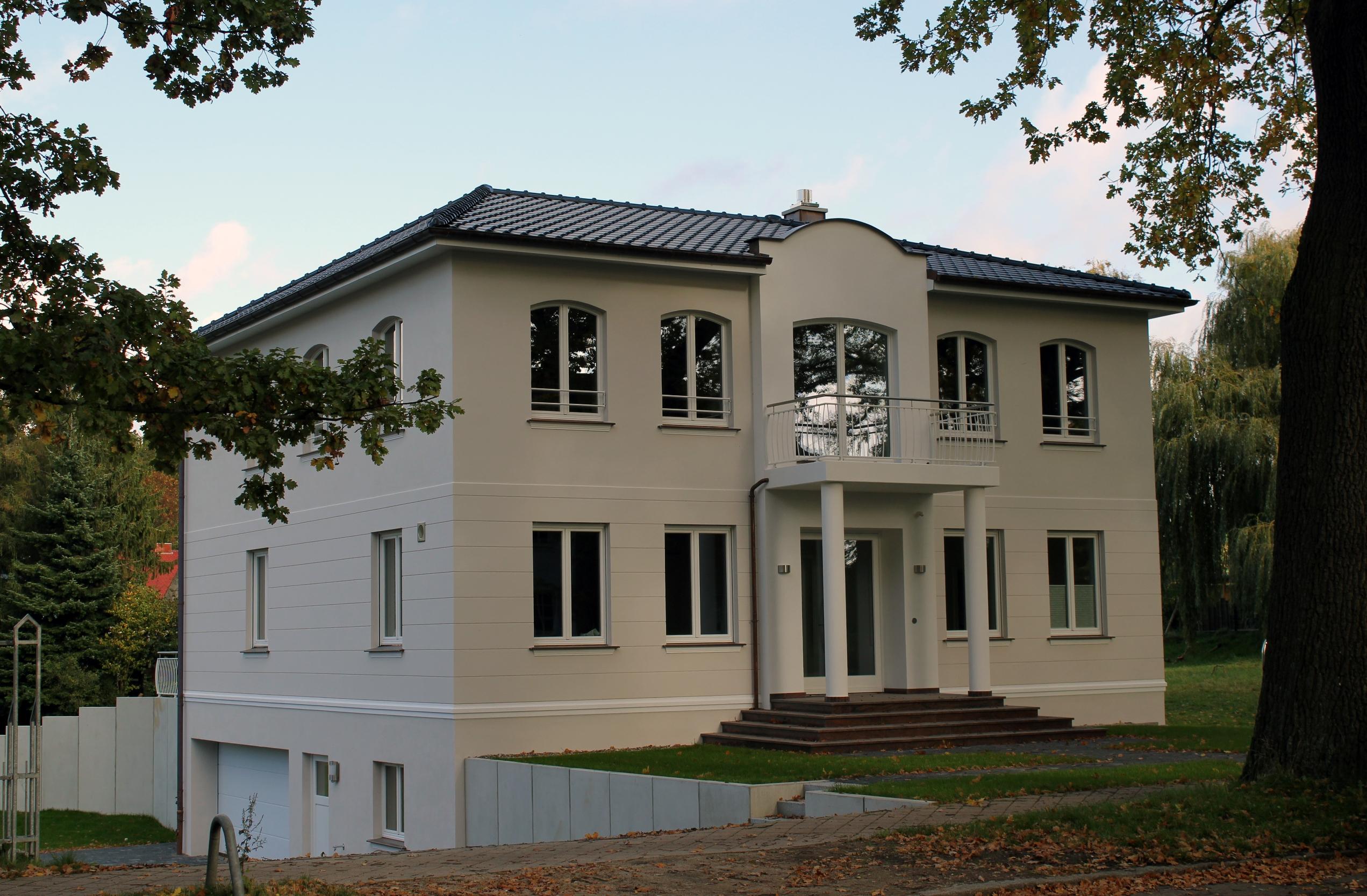 Ansicht Einfamilienhaus Schwerin Vorderseite